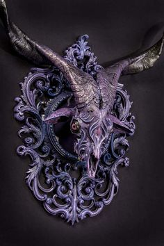 Mind-Bending Twisted Fantasy Animal Skulls Sculptures By Chris Haas