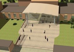 New entrance area, Northgate High School School Projects, School Ideas, Norfolk, Architecture Design, Entrance, Ambient Light, Gallery, Designers