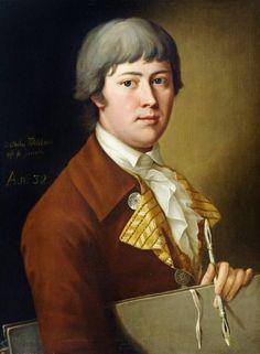 Johann Heinrich Wilhelm Tischbein - Self portrait