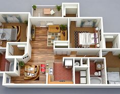 check out new work on my behance portfolio 3d floor plan design - 3d Home Floor Plan
