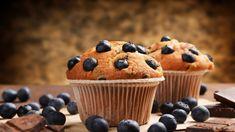 Sin Gluten, Berry Muffins, Gluten Free Flour, Bread Baking, Nutella, Berries, Deserts, Frozen, Strawberry