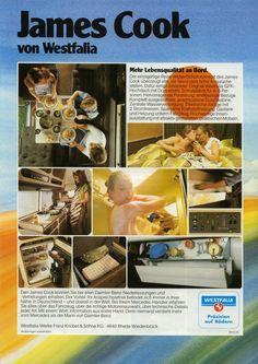 James Cook Caravan, Campervan, Van Life, Vw, 1980s, Mercedes Benz, Clever, Cooking, Projects