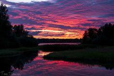 Purple #sunset , Hollihaka #Oulu #Finland