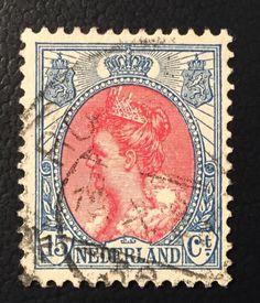 1899-1921 Koningin Wilhelmina 65 gestempeld