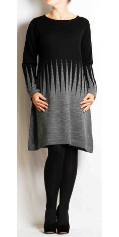 Two Danes Mirijam Dress Black Grey