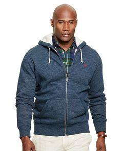 Cotton-Blend-Fleece Hoodie - Big & Tall Sweatshirts - RalphLauren.com