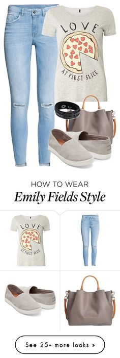 """Emily Fields Inspired"" by smirnova-varya on Polyvore featuring H&M, Dorothy Perkins, Dooney & Bourke, Swarovski, PrettyLittleLiars, pll and EmilyFields"