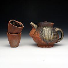 Red Lodge Clay Center | Jason Hess Pottery Teapots, Raku Pottery, Ceramic Teapots, Pottery Art, Red Lodge, Clay Center, Pottery Making, Tea Bowls, Coffee Set