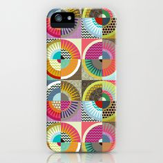 New York Beauty iPhone & iPod Case #sharonturner #scrummy #cse #phone #society6 #quilt #geometric #chevron #dot #color #orchid #pink
