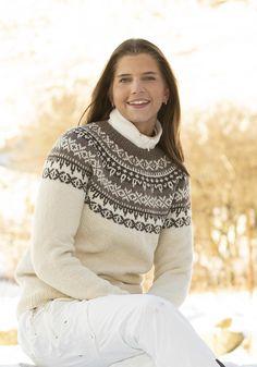 "2109-6 ""Karve""-genser Vikings, Knitting Patterns, Turtle Neck, Norway, Sweaters, Fashion, Threading, The Vikings, Moda"
