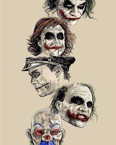 Batman Anniversary Tribute - PP :: Heath Ledger as Joker in 2008 - Art by Robert Bruno Le Joker Batman, Der Joker, Joker Heath, Joker Art, Joker And Harley Quinn, Heath Leadger, Joker Arkham, Joker Clown, Joker Tattoos