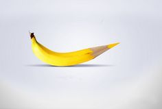 Photography True Colours By Mahmoud Hassan. True Colours by Faber-Castell. Mahmoud Hassan is from Nasr City, Egypt. His focus is on Cartooning, Digital Photography, Illustration. Clever Advertising, Advertising Campaign, Advertising Design, Advertising History, Faber Castell, Platano Y Banana, Bananas, Pencil Carving, Poesia Visual