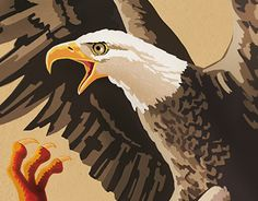 """Check out new work on my @Behance portfolio: """"Dragon and Eagle"""" http://be.net/gallery/50734077/Dragon-and-Eagle"""