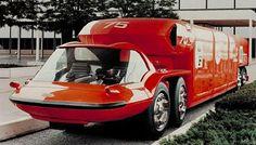 1964 General Motors Bison Concept: The Future Looked So Awesome! General Motors, Cool Trucks, Big Trucks, Station Wagon, Colani, Weird Cars, Automotive Design, Hot Cars, Motorhome