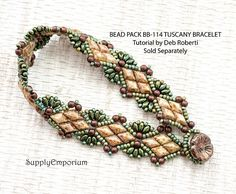 Bead Pack BB-114 Tuscany Solitaire Bracelet By Deb Roberti
