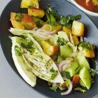 Fenchel-Brot-Salat, vegan