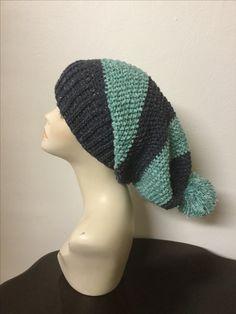 Crochet women's slouchy Beanie, pom Pom slouchy Beanie, women's hats, women's accessories