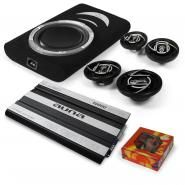 "auna Car Audio Set ""Suzuka"" Altoparlante Subwoofer Amplificatore"