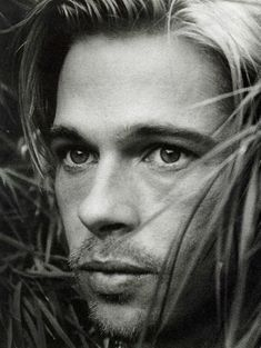 "Brad Pitt. He was most gorgeous in ""Legends of the Fall"" and ""Meet Joe Black""."