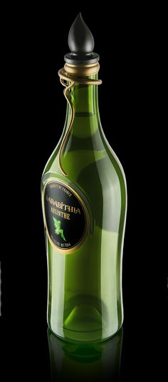 We've gathered 20 Brilliant & Hallucinating Absinthe Bottle Designs and we think that you'll enjoy them as much as we did. For those of you who don't know, Absinthe is that green drink that you've probably first seen in the movies (I, for instance,… Good Spirits, Wine And Spirits, Label Design, Packaging Design, Whisky, Tequila, Alcohol Bottles, Liquor Bottles, Glass Bottles