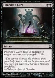 Pharika S Cure Magic Cards White Deck The Gathering