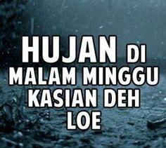 Gambar DP BBM Malam Minggu Hujan Lebat Lucu Terbaru 2017 2018 2019 2020