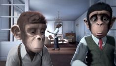 https://www.youtube.com/watch?v=S_kXyWhBB10  3D Animation Short Film - Monkey Symphony - Full Animated Movies HD: In a world where the monkeys are music-lovers, two young chimpanzees are separated by a musical dispute... Give us a LIKE and SUBSCRIBE for more videos :-)