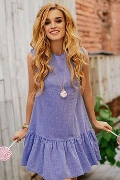 New Fashion Style Summer Women Necklaces Ideas Simple Dresses, Cute Dresses, Casual Dresses, Short Dresses, Fashion Dresses, Summer Dresses, The Dress, Dress Skirt, Look Fashion