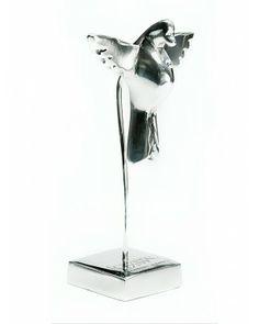Espírito Santo Base P com Cristal - #Swarovski #cristais #aluminio #decoracao #espiritosanto