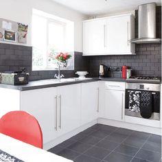 Love the matte finish of the tiles... Cocina | Decoratrix | Decoración, diseño e interiorismo | Página 13