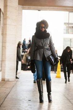 Fabulous Street Style at New York Fashion Week