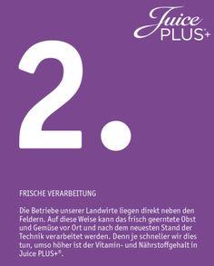 Juice Plus - Mitte Westen - Hessen Center Kassel: Video, über die frische Verarbeitung der Früchte f...