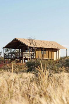 Suricate Kalahari Tented Camp - Intu Afrika Kalahari Private Game Reserve, Namibia
