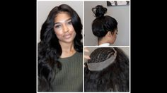 360 lace frontal install! NO GLUE, TAPE, OR GEL [Video]  Read the article here - http://blackhairinformation.com/video-gallery/360-lace-frontal-install-no-glue-tape-gel-video/