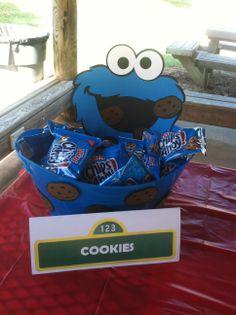 Sesame Street Cookie Idea