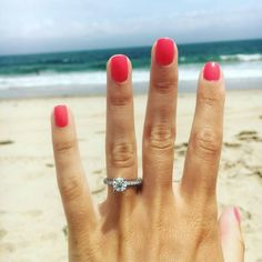 We love beach backdrops for your ring selfies