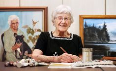 'Holy moly!': At 101, Nebraska woman still painting, teaching art - Omaha.com: OMAHA METRO