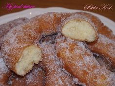 Greek Sweets, Greek Desserts, Greek Recipes, Fun Desserts, Dessert Recipes, Donut Recipes, Pastry Recipes, Candy Recipes, Baking Recipes