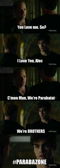 "#Shadowhunters 1x05 ""Moo Shu to Go"" - Jace and Alec"