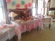 Princess party & The Royal Princess table set up!   The Royal Princess Party ...