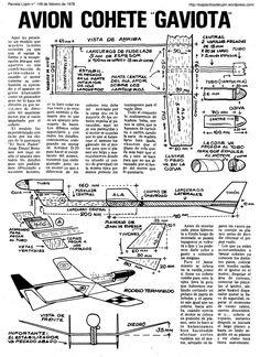 Planitos de Lúpin. Avión cohete Gaviota