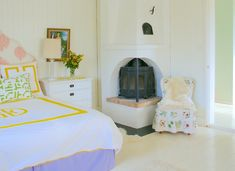 Sunshine Deco bedding in swedish country house