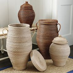 Piper Woven Urn Baskets