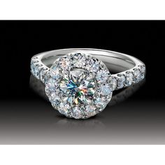 739 PEAR CUTS DOME BIG RING SIMULATED DIAMOND RING RHODIUM CLEAR STUNNING size j