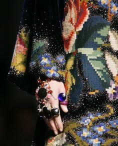 textile embroidery jacket