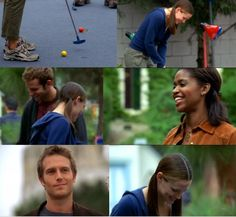 When Vaughn pays for Sidney to go mini golfing with her friends... and then acts like a stalker as he gazes at her from afar.... Alias