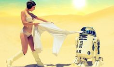 9 Pictures of R2D2 Getting Naughty With Leia In The Deserts Of Tattoine! - Well, if you are a huge Star Wars fan with an open mindset, this post is exactly for you! Why? Because we are going to see R2D2 losing his control over bestial feeling and it tries to get naughty with Leia in the deserts of Tattoine. We know that this sounds weird and interesting at the same time, a