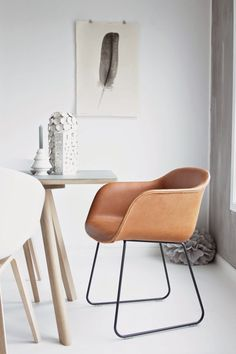 40 Modern Leather Chair Ideas With Art Deco Style Home Furniture, Furniture Design, Bohemian Furniture, Danish Furniture, Chair Design, Office Furniture, Ergonomic Chair, Deco Design, Design Moderne