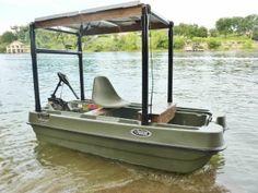 DIY Plywood Fishing Boat