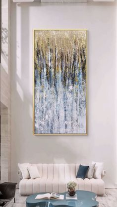 Large Canvas Art, Abstract Canvas Art, Diy Canvas Art, Large Canvas Paintings, Homemade Canvas Art, 3 Piece Canvas Art, Create Canvas, Blue Abstract Painting, Large Painting